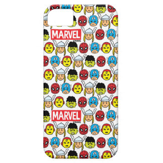 Pop Avengers Character Head Pattern iPhone SE/5/5s Case