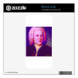 Pop Bach Decals For The iPhone 4