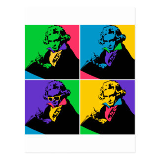 POP Beethoven Postcard
