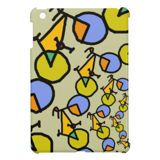 pop bicycles in circles iPad mini cases