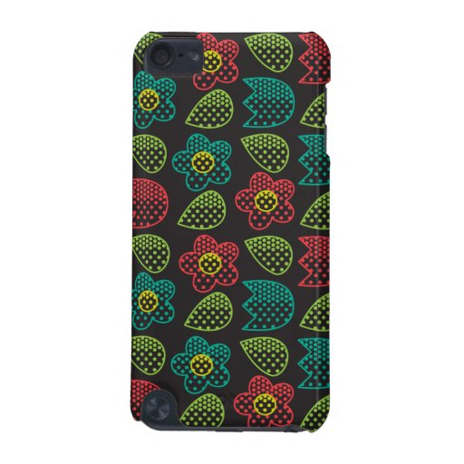Pop Bot Black iPod Touch 5G Cover