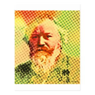 Pop Brahms Postcard