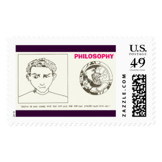 Pop Can, PHILOSOPHY Postage
