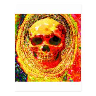 Pop Candy Skull Postcard