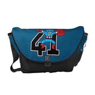 Pop Captain America 41 Courier Bag