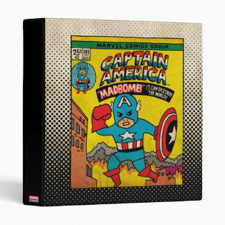 Pop Captain America Comic Cover #193 Binder