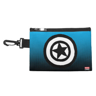 Pop Captain America Logo Accessory Bag