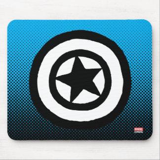 Pop Captain America Logo Mouse Pad
