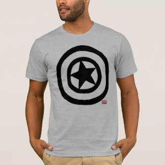 Pop Captain America Logo T-Shirt