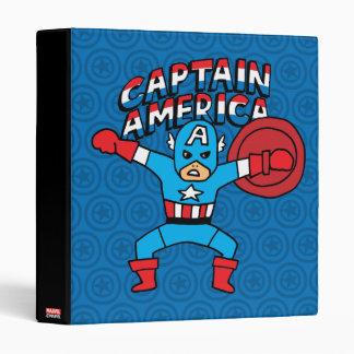 Pop Captain America with Logo Binder