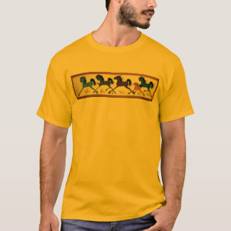 Pop Chalee Horse Mural T-Shirt