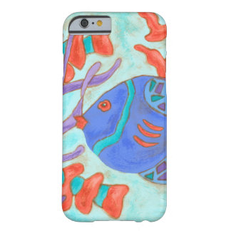 Pop-Colored Fish Barely There iPhone 6 Case