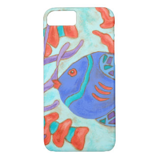 Pop-Colored Fish iPhone 7 Case