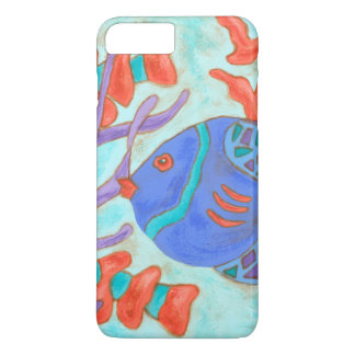 Pop-Colored Fish iPhone 7 Plus Case