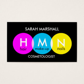 Pop Cosmetologist Business Card