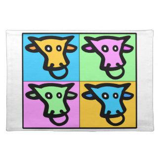 Pop Cow Cloth Place Mat