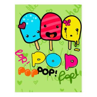 Pop Craze Postcard