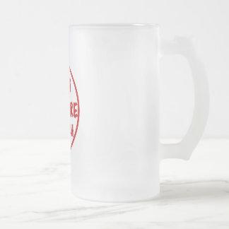 Pop Culture Crunch Frosted Glass Mug