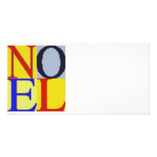 POP CULTURE NOEL PHOTO CARD TEMPLATE