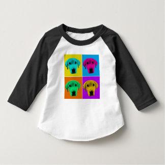 Pop Dog Kids Baseball T-Shirt