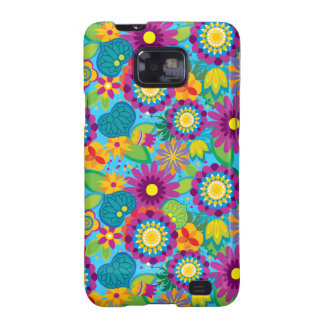 Pop Electric Blossoms Samsung Galaxy Cover