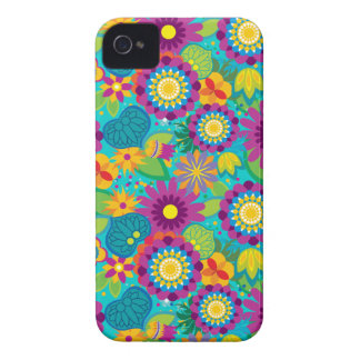 Pop Electric Blossoms iPhone 4 Case-Mate Cases