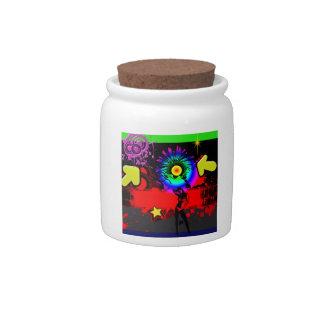 Pop Explosion Candy Jars