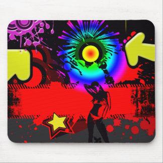Pop Explosion Mouse Pad