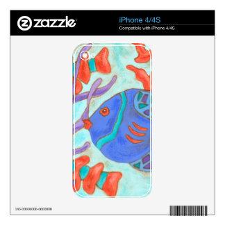 Pop Fish iPhone 4 Skin