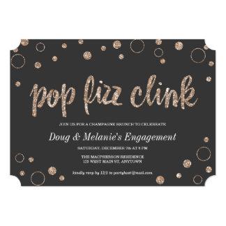 Pop Fizz Clink Champagne Bubbles | Party Invites