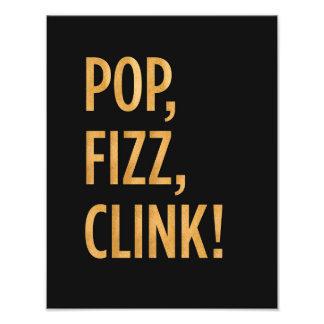 Pop. Fizz. Clink. Print