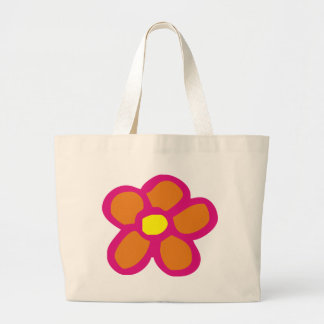 Pop Flower Canvas Bag