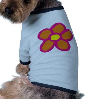 Pop Flower Dog Shirt