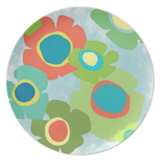 Pop Flower Plate