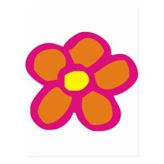 Pop Flower Postcard