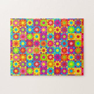 Pop Flower Power Jigsaw Puzzles