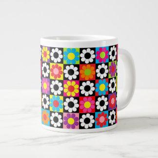 Pop Flower Power Extra Large Mugs