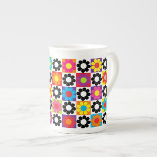Pop Flower Power Porcelain Mug