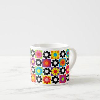 Pop Flower Power Espresso Mug