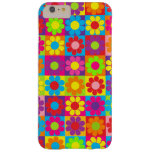 Pop Flower Power Squares Barely There iPhone 6 Plus Case