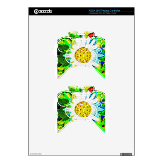 Pop Flower Xbox 360 Controller Skins