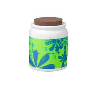 Pop Flowers Candy Jars