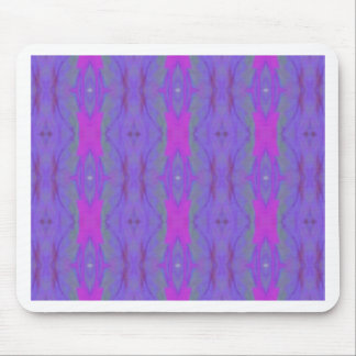 Pop Fluorescent Pink Lavender Chic Pattern Mouse Pad