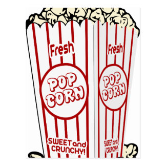 Pop Fresh corn Postcard