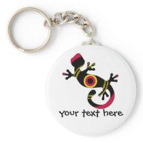 pop gecko blk keychain