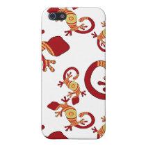 pop gecko crazy Pern 4 casing iPhone SE/5/5s Cover