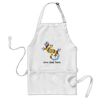 pop gecko sunburst apron