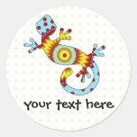 pop gecko sunburst stickers