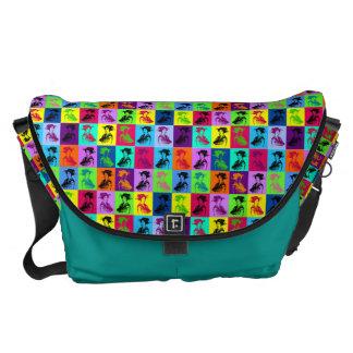 Pop Geishas Courier Bag