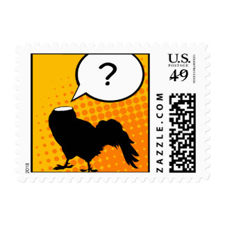 Pop Goes the Fowl Postage Stamp